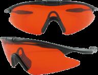 orange sunglass air tight glass