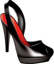 ornamental black heelshoe free png download (2)