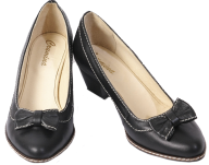 pair black small heelshoe free png download