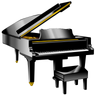 Piano PNG Free Download 16