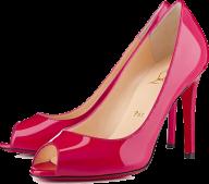 pink fancy heelshoe free clip art png download