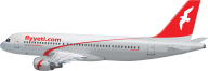 Plane Png Red Color Air Arabic