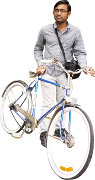 post boy bicycle free png image download