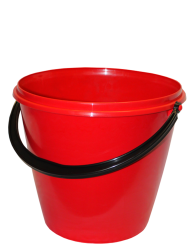 RED BUCKET FREE PNG DOWNLOAD