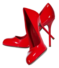 red classic heelshoe free png download