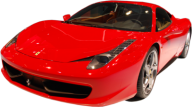 Red Ferrari Png