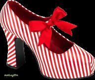 red ribbon  white  heelshoe free png download
