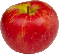 Red Round Apple Png Free Download