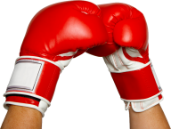 red set boxing gloves free png download (2)