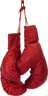 red set boxing gloves free png download