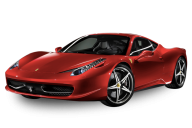 Reddish Ferrari Png Download