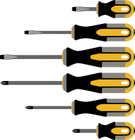Screwdriver Clipart Png Image