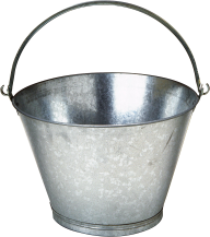 silver bucket free png download (2)