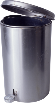 SILVER BUCKET FREE PNG DOWNLOAD