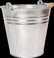 silver wood handel  bucket free png download
