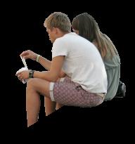 Sitting Man PNG Free Download 14