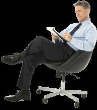 Sitting Man PNG Free Download 17