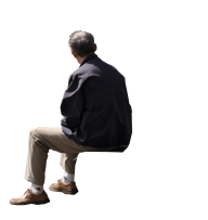 Sitting Man PNG Free Download 29