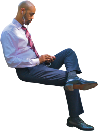 Sitting Man PNG Free Download 9
