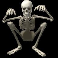 Skeleton PNG Free Download 8