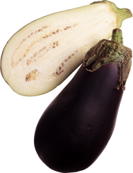 Sliced Eggplant Brinjal Image Hd