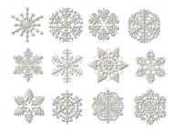 Snow Flakes PNG Free Download 7