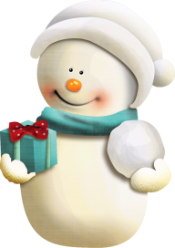 Snow Man PNG Free Download 10