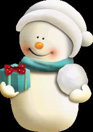 Snow Man PNG Free Download 10
