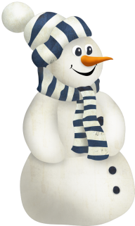 Snow Man PNG Free Download 11