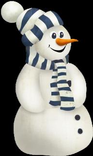 Snow Man PNG Free Download 11