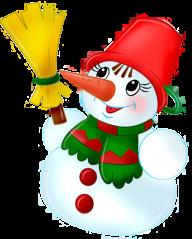 Snow Man PNG Free Download 12