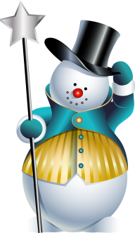 Snow Man PNG Free Download 13