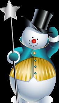 Snow Man PNG Free Download 13