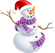Snow Man PNG Free Download 15