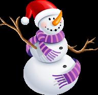 Snow Man PNG Free Download 15