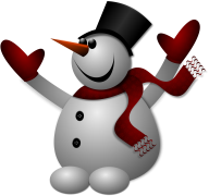 Snow Man PNG Free Download 18