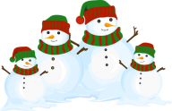 Snow Man PNG Free Download 19