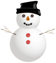 Snow Man PNG Free Download 2