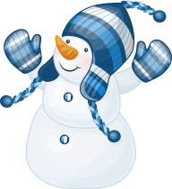 Snow Man PNG Free Download 20