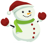 Snow Man PNG Free Download 23