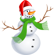 Snow Man PNG Free Download 24