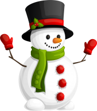 Snow Man PNG Free Download 25