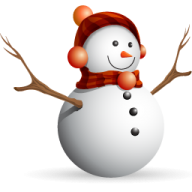 Snow Man PNG Free Download 27