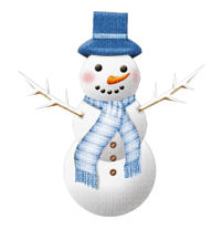Snow Man PNG Free Download 28