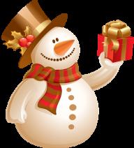Snow Man PNG Free Download 3