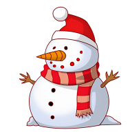 Snow Man PNG Free Download 30