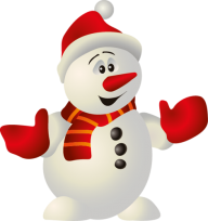 Snow Man PNG Free Download 4