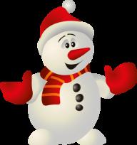 Snow Man PNG Free Download 4