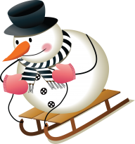 Snow Man PNG Free Download 5