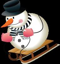 Snow Man PNG Free Download 5